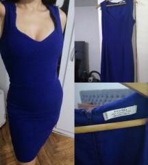 Mango haljina kraljevsko plava