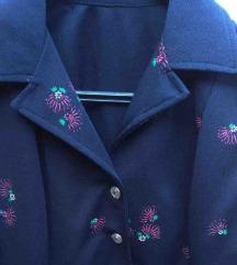 Vintage haljina od zerseja S/M