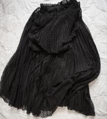 HM maxi dotted suknja, vel. 36