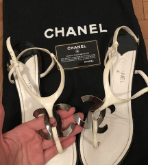 Snizeno Original Chanel ravne sandalice