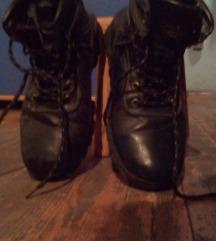 cipele duboke dečije 44 crne malo nošene