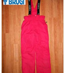Ski pantalone Brugi roze vel.11-12