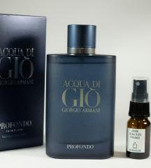 Armani Acqua di Gio Profondo - Dekant 5/10ml