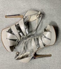 Guess silver sandale