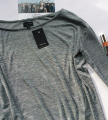 Reserved bluza srebrna Nova