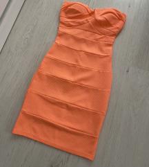 Tally weijl neon narandzasta haljina novo