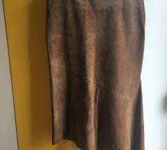 Vero moda kožna suknja