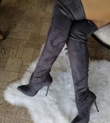 Cizme iznad kolena novo