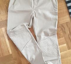 ZARA kozne pantalone % M velicina