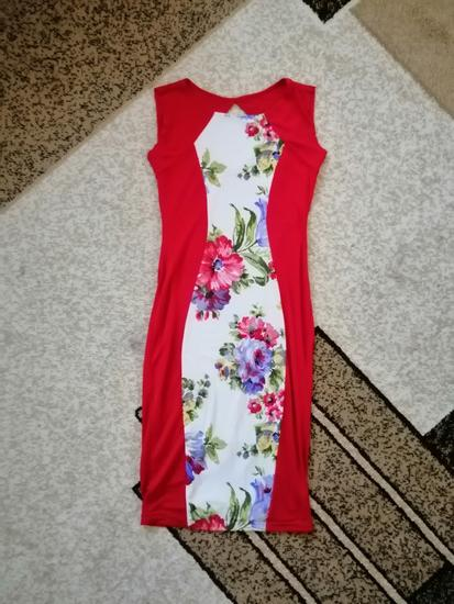 Prelepa strukirana haljina do kolena