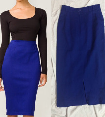 NOVA pencil plava prelepa suknja AKCIJA