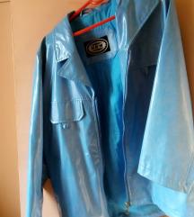 Plasticna plava jakna za kisu