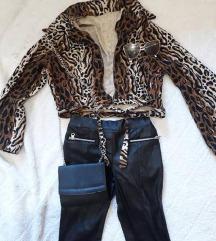Prelepa print jakna S