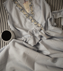 dostupno! Prugasta Koton haljina sa vezom, vel. 36