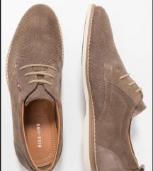 Muške cipele od prevrnute kože