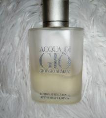 Acqua Di gio armani after shave lotion