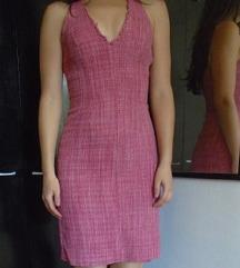 Tvid haljina 100% svila