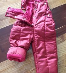Decije zimske pantalonice vel.74