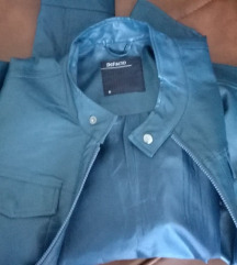 DeFacto plava kozna jakna