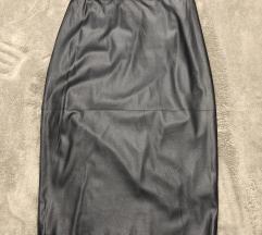 Crna pencil suknja novo