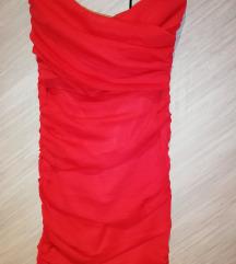 Crvena Terranova haljina S