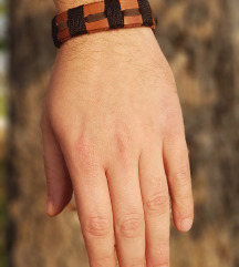 Kožna narukvica Barel (Prirodna koža)