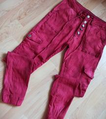 Prelepe crvene push up pantalone