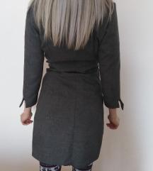 Siva mantil ~ haljina