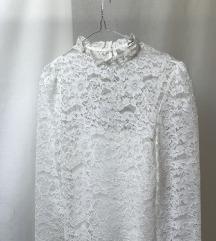 stradivarius bela bluza