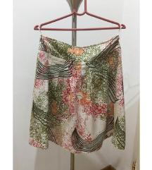 Benetton suknja od lana