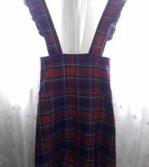 Tartan suknja na tregere