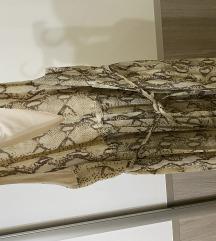 H&M letnja haljina zmijski print