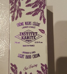 INSTITUT KARITE PARIS LIGHT HAND CREAM 75ml