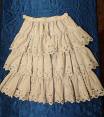 Midi vintage suknja L