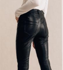 MONA Kožne pantalone NOVO