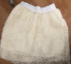 Suknja 3D ruze