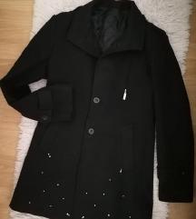Crni kaput M/L sa biserima