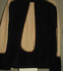 Bluza crno krem