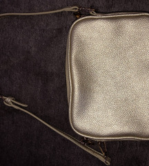 Sisley zlatna torbica/ NOVO
