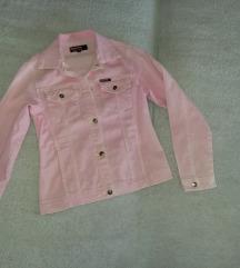 Teksas jakna pink