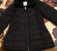 Tom tailor crna zimska jakna S