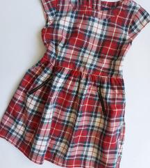 Gap karirana haljina