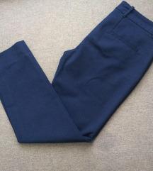 Zara tamno plave cigaret pantalone