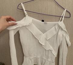 H&M košuljica spuštena ramena