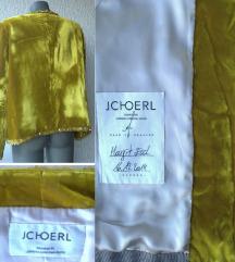 sako unikatni pliš staro zlato br 42 do 44 JCHOERL