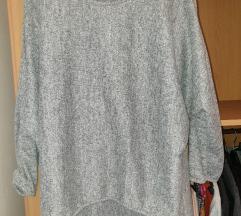 SNIZENJE Siva lagana džemper bluza