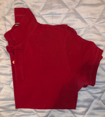 muska crvena majica waikiki