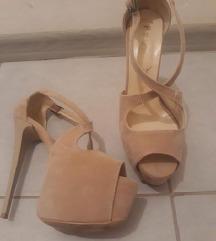 Krem sandale 38 NOVE