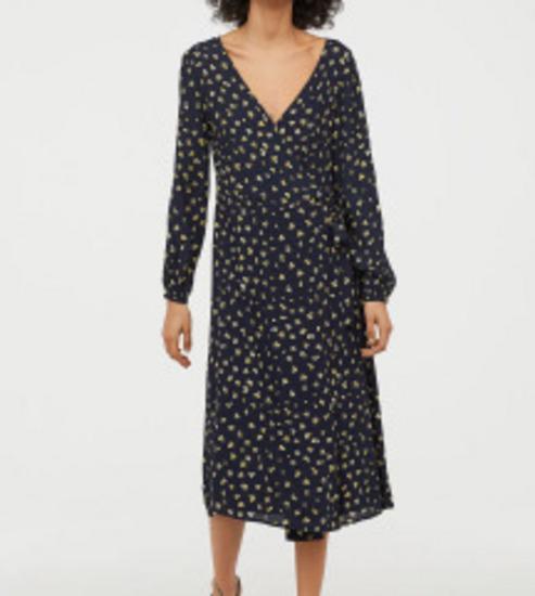H&M nova haljina na preklop