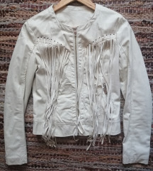Kozna jakna bez
